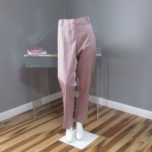 NEW New York & Company Low Rise Slim Ice Pink Pant